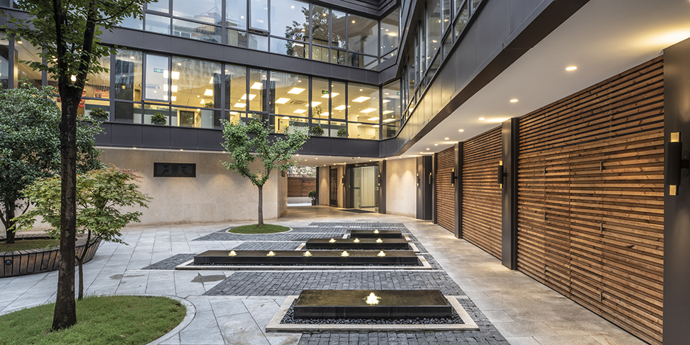 Yimin Courtyard Office Jsa